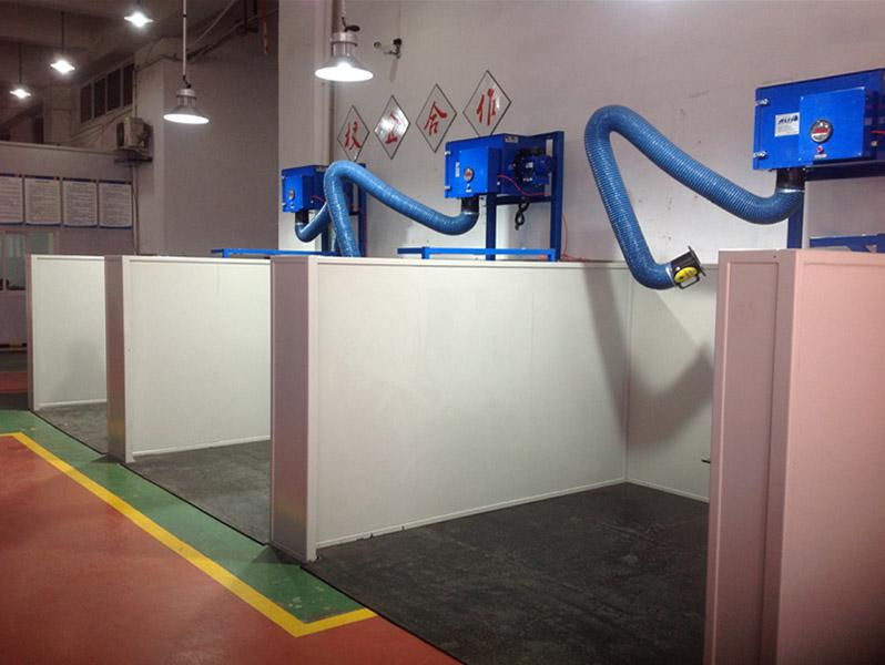 成都市技师学院-焊接实训室