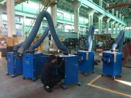 成都焊烟净化器的安装、使用、维护
