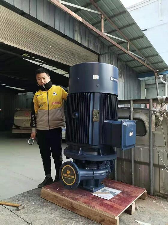 张家山水库泵站更换水泵