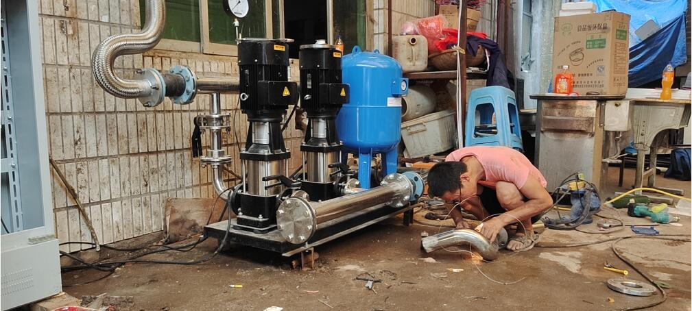 西安市中心医院供水改造