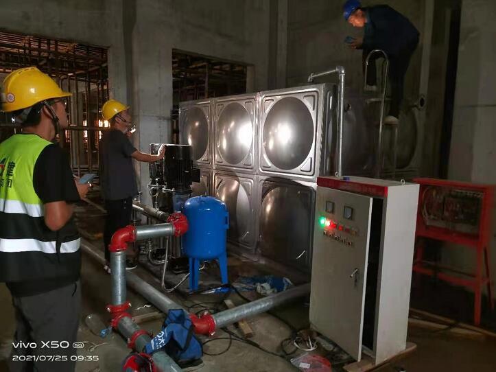 陕建一建集团,工地供水设备