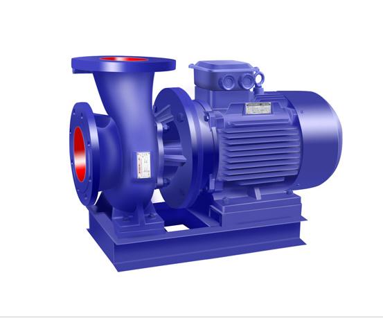 IRW卧式热水管道离心泵