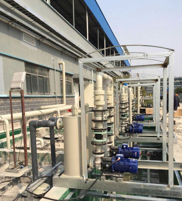 西安污水泵:工厂处理区展示