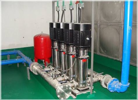 西安潜水泵自建供水系统