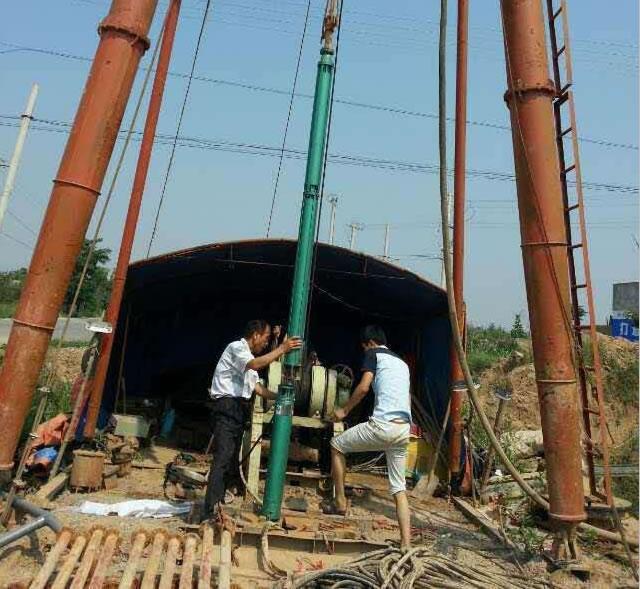西安水泵工程建设案例