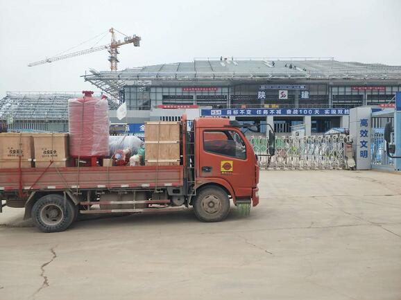 消防泵——第十四届全运会柔道馆