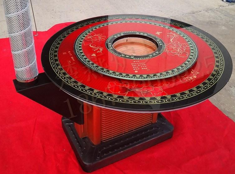 液压大脚组装式烤火炉