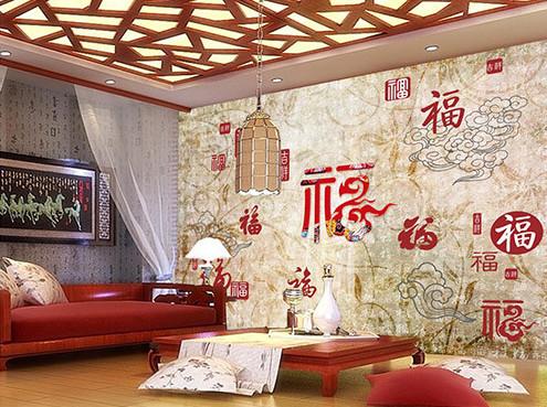 银川某小区业主-李先生家纤维集成吊顶墙板展示
