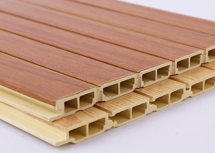 竹木纤维集成墙板安装