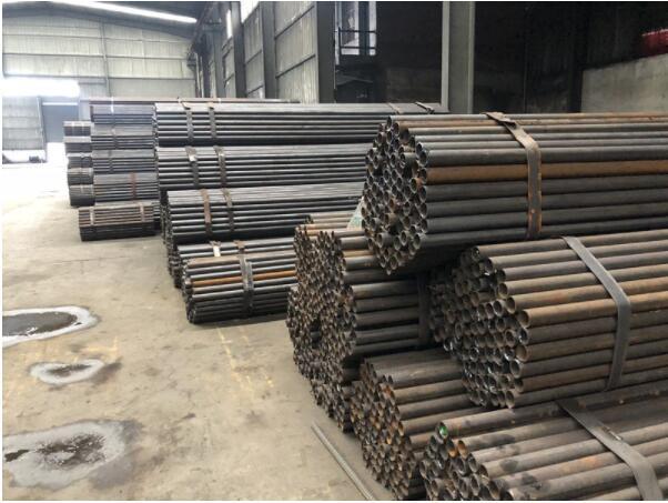 西安星朋管业有限公司架子管生产过程