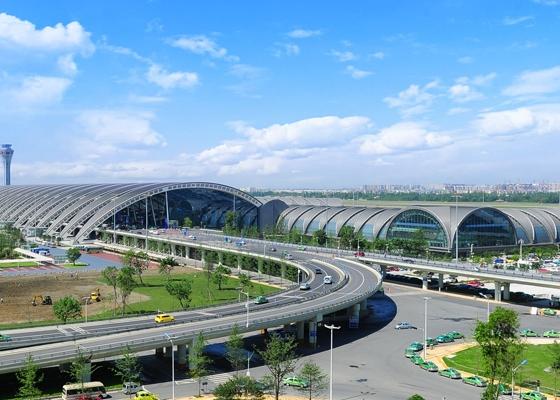 四川聚氨酯水带销售成功案例:双流国际机场