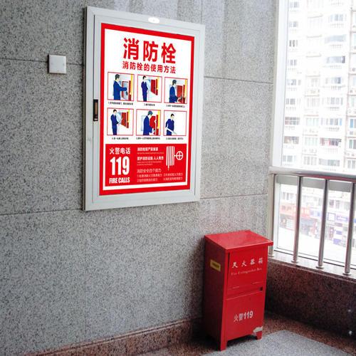 四川消防栓厂家为你讲解消火栓箱门的开启角度