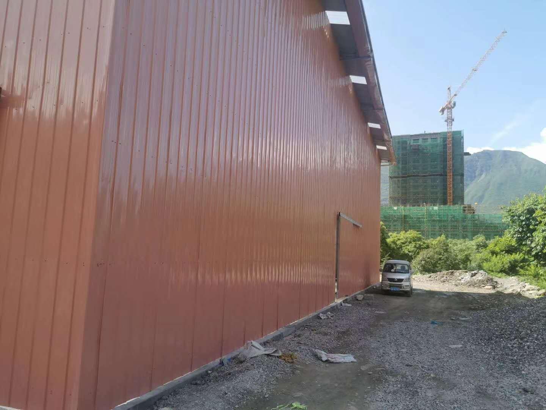 四川钢筋棚安装