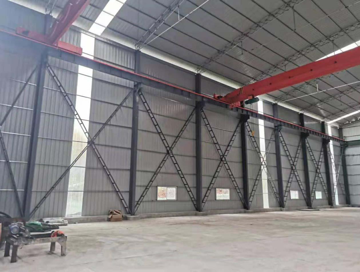 怎么将四川钢筋棚构件组装到一起?