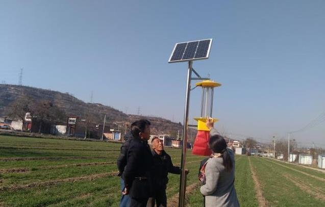 太阳能杀虫灯助力农业面源污染控制!