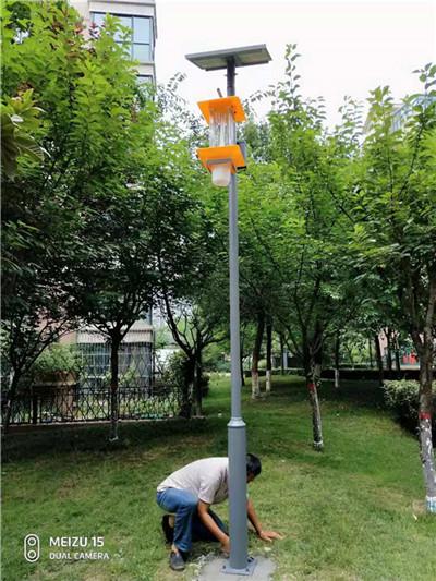 西安杀虫灯厂家西安君达能源小编带您了解杀虫灯是否对对防治草地贪夜蛾有效