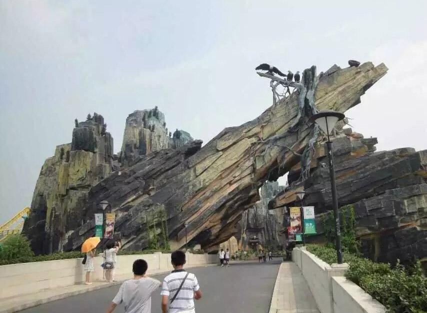 四川塑石假山