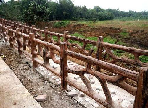悄悄告诉你那些关于仿木栏杆的安装维护小技巧