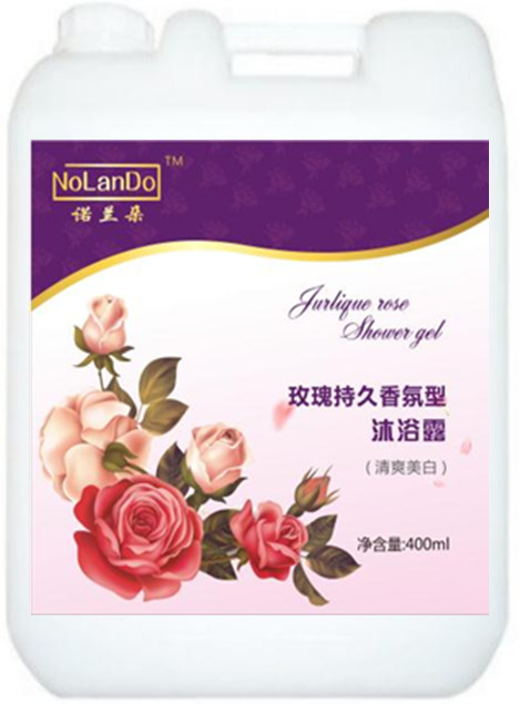 诺兰朵玫瑰持久香氛型沐浴露