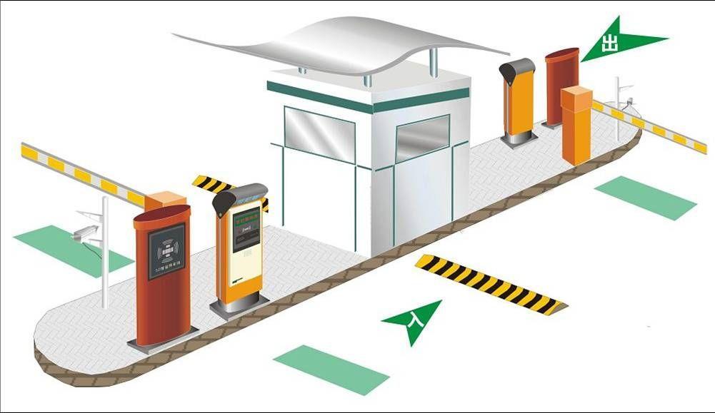 成都智能停车场系统组成及施工步骤