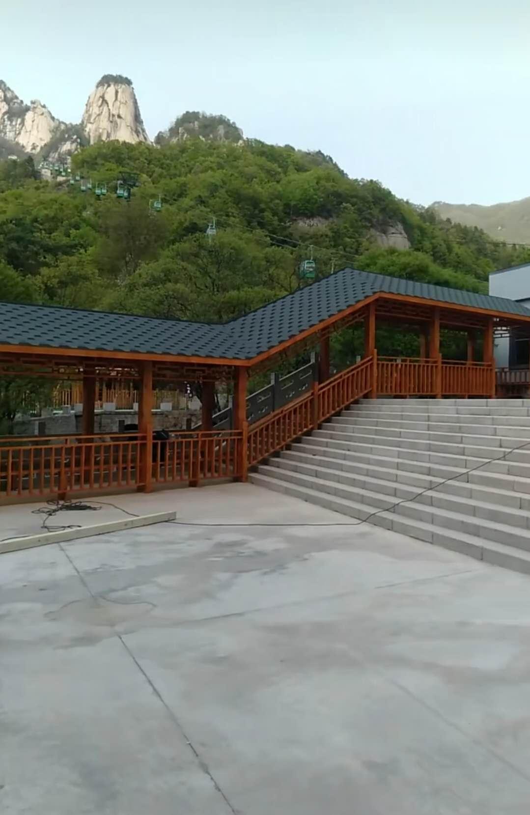 四川防腐木凉亭