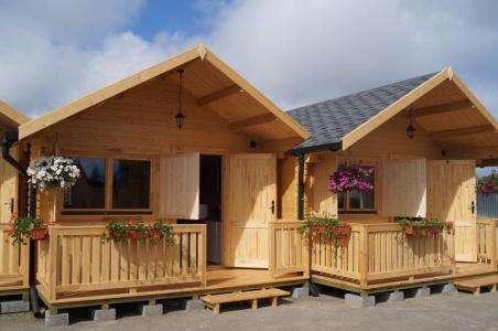 田园防腐木木屋