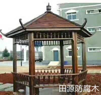 四川防腐木凉亭施工