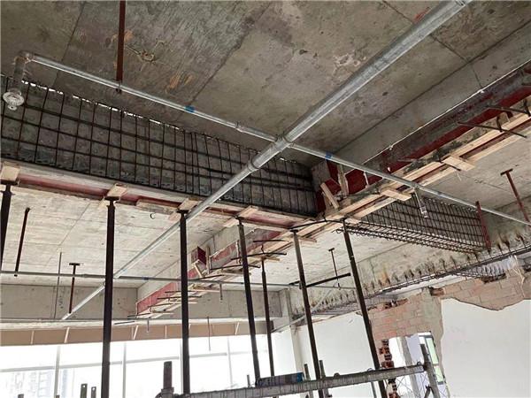 四川的混凝土结构的加固工程