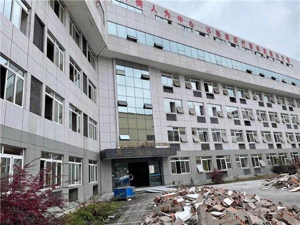 妇幼保健院加固工程封面用大楼外景
