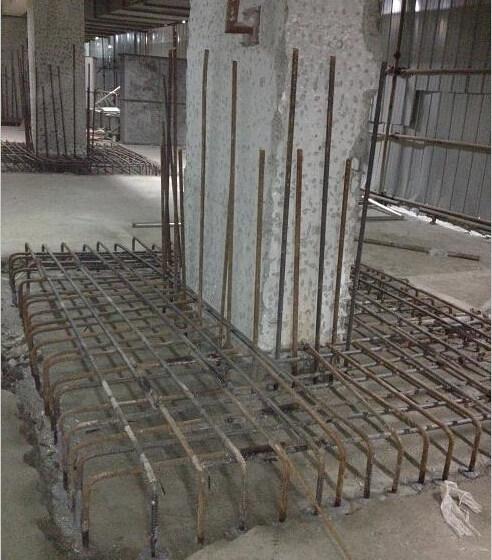 混凝土结构截面加大