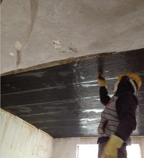 现浇砼板碳纤维加固施工