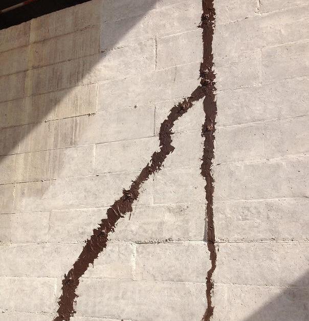 四川裂缝处理施工工程