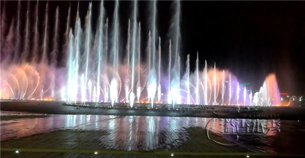 河南音樂噴泉設計