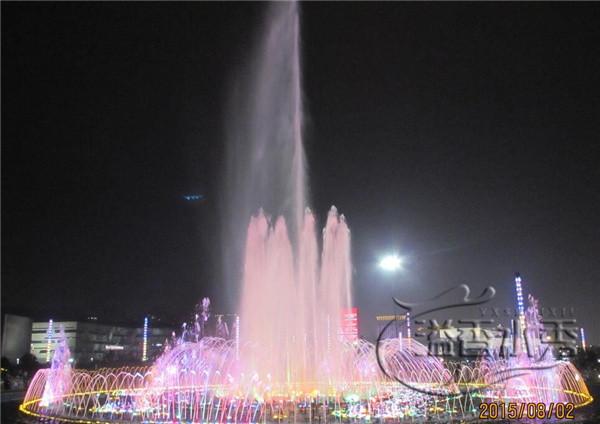 河南音樂噴泉制作