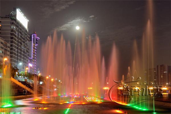 河南音樂噴泉水秀案例