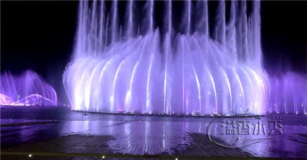 大型音樂水秀噴泉
