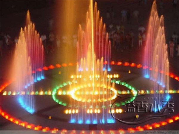 河南旱式噴泉