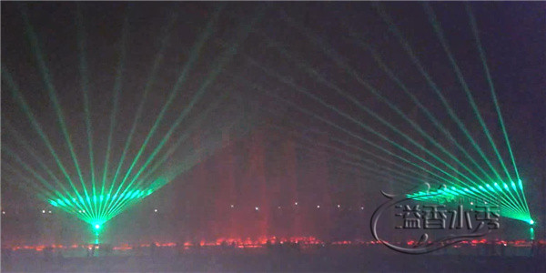 噴泉激光水秀案例