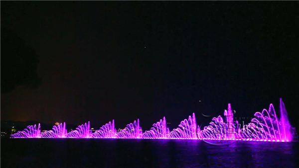 河南音乐喷泉设计