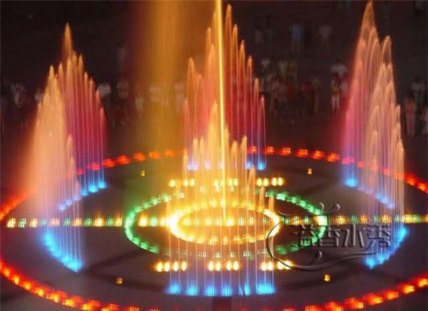旱式喷泉设计