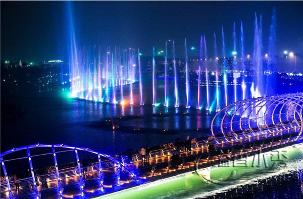 洛阳师范大学建设的喷泉工程
