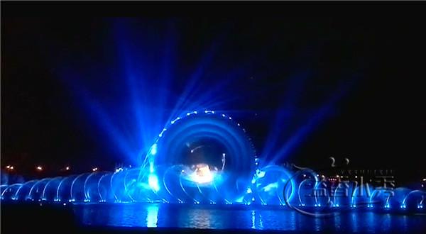 洛阳市新安人民政府音乐喷泉