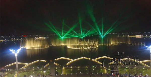 河南大学建设的喷泉工程