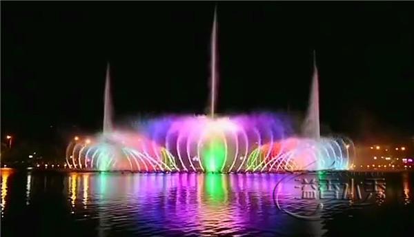 黄河水利学院建设的喷泉工程
