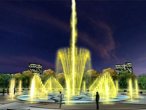 音乐喷泉的工作原理?