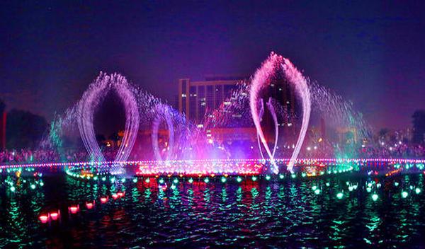 喷泉的方案设计与施工须知事项