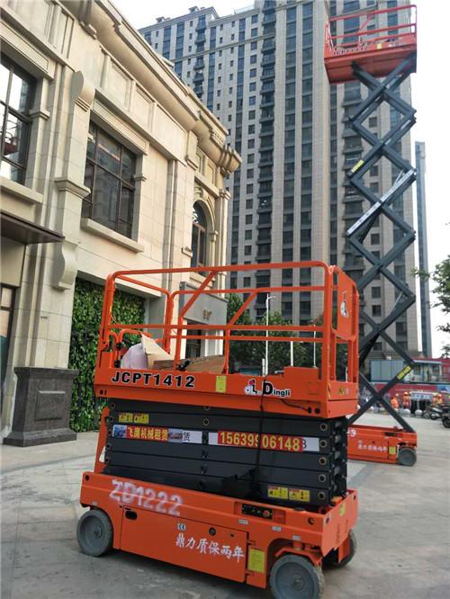 咸阳郑州自行式升降平台租赁