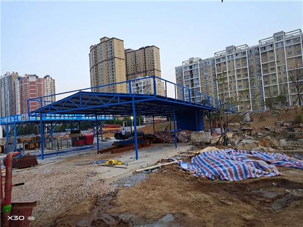 河南彩钢大棚施工