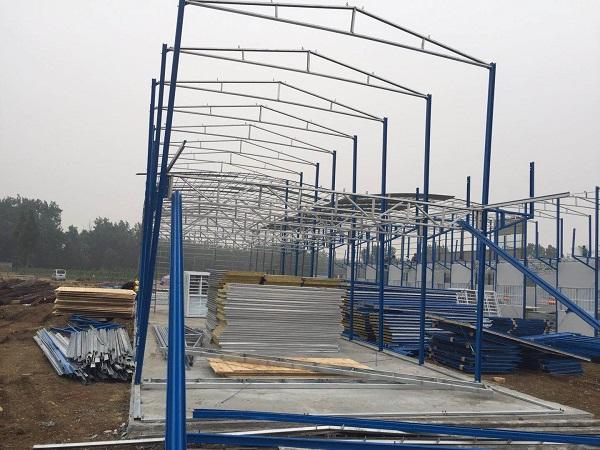 河南网架房厂家分享了钢结构的特点,一起了解一下吧