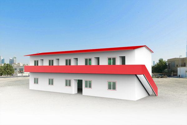 活动板房与轻钢装配式房屋结构的区别是什么?
